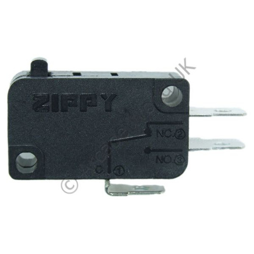 ZIPPY Button Microswitch With 4.8mm Terminals