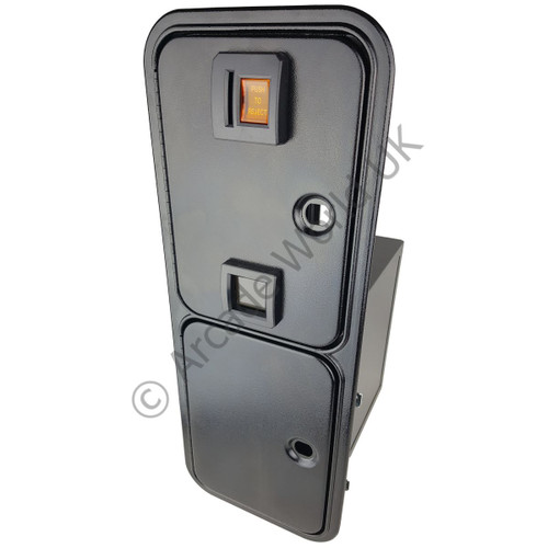 IL Single Entry Over/Under Door With Cash Box & Full Metal Enclosure