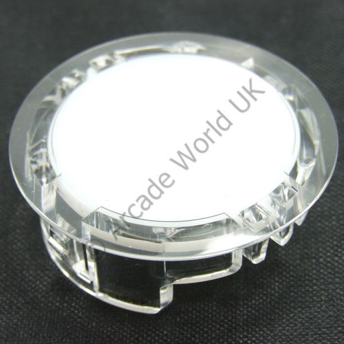 Sanwa OBSCM-30 Clear Button Hole Blank