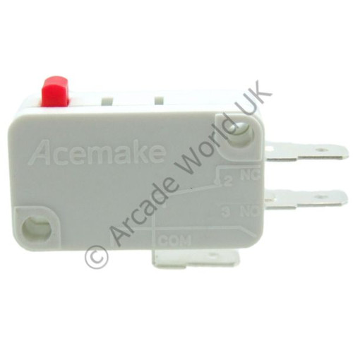 Acemake Button Microswitch With 4.8mm Terminals