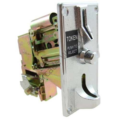 Calle Mechanical Token Mechanism With Lockout Coil