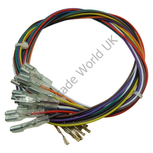 10 Pack Of Extension Wires With Crimp Connectors