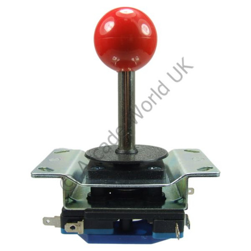8 Way Ball Top Joystick With Metal Mounting Plate