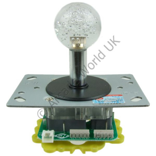 Colour Changing Illuminated Joystick With 35mm Bubble Top