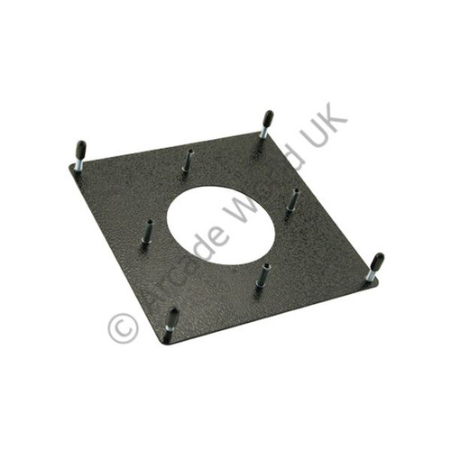 "Happ 2-1/4"" Trackball Mounting Plate Kit"