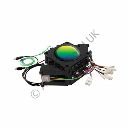 "Happ 3"" RGB Illuminated Trackball With USB & PS/2 Output"