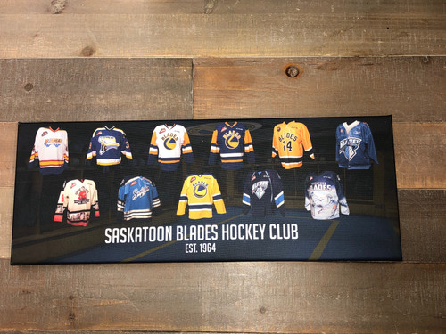 Blades Jersey Collectible Canvas