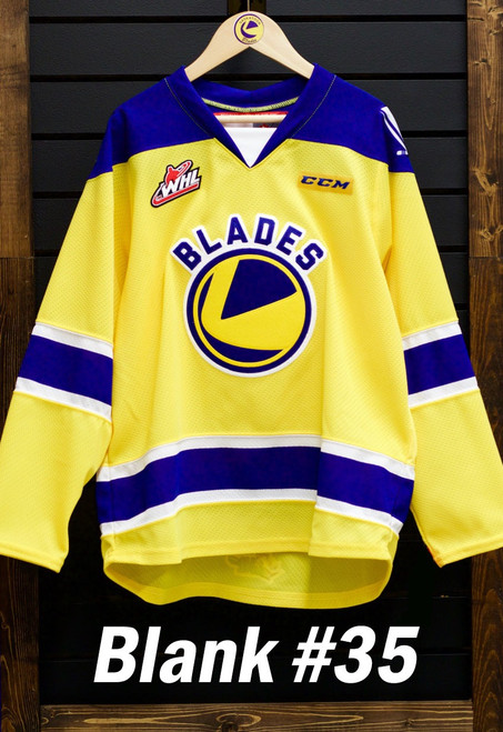 Blank Gold Authentic Jersey