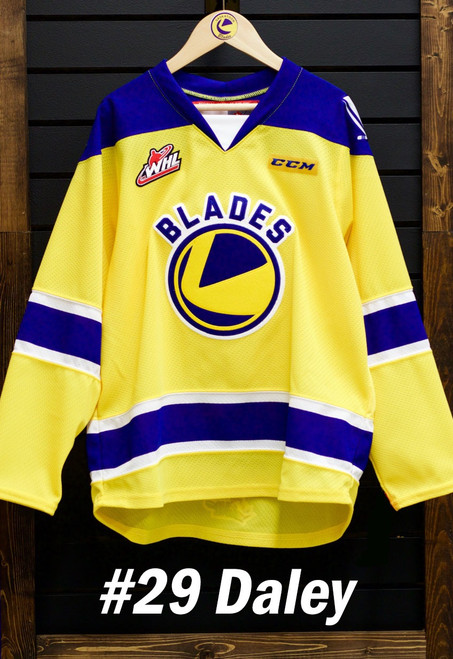 Daley Gold Game Worn Jersey