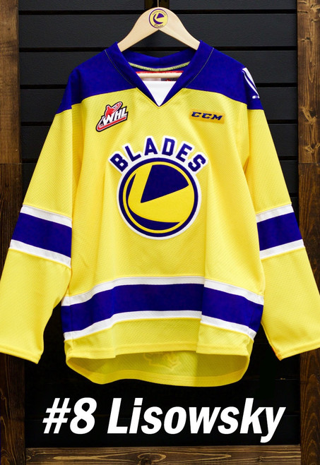 Lisowsky Gold Game Worn Jersey