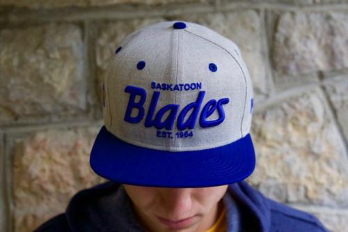 Royal Brim Blades Snapback