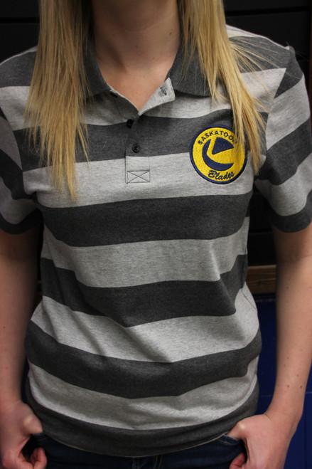 Unisex Grey Rugby Shirt