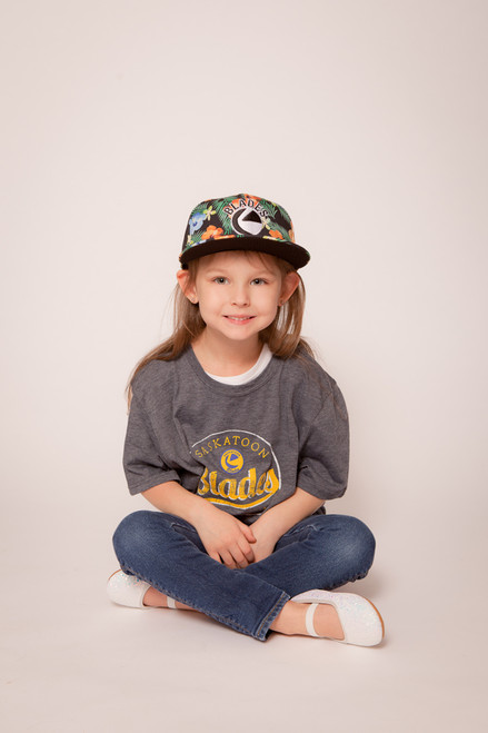 Youth Fresh Floral Snapback