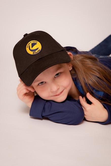 Youth Black Dad Hat