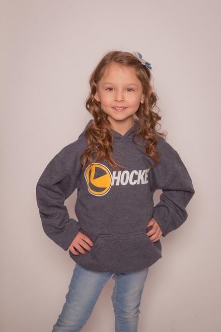 Youth Navy Hockey Hoodie