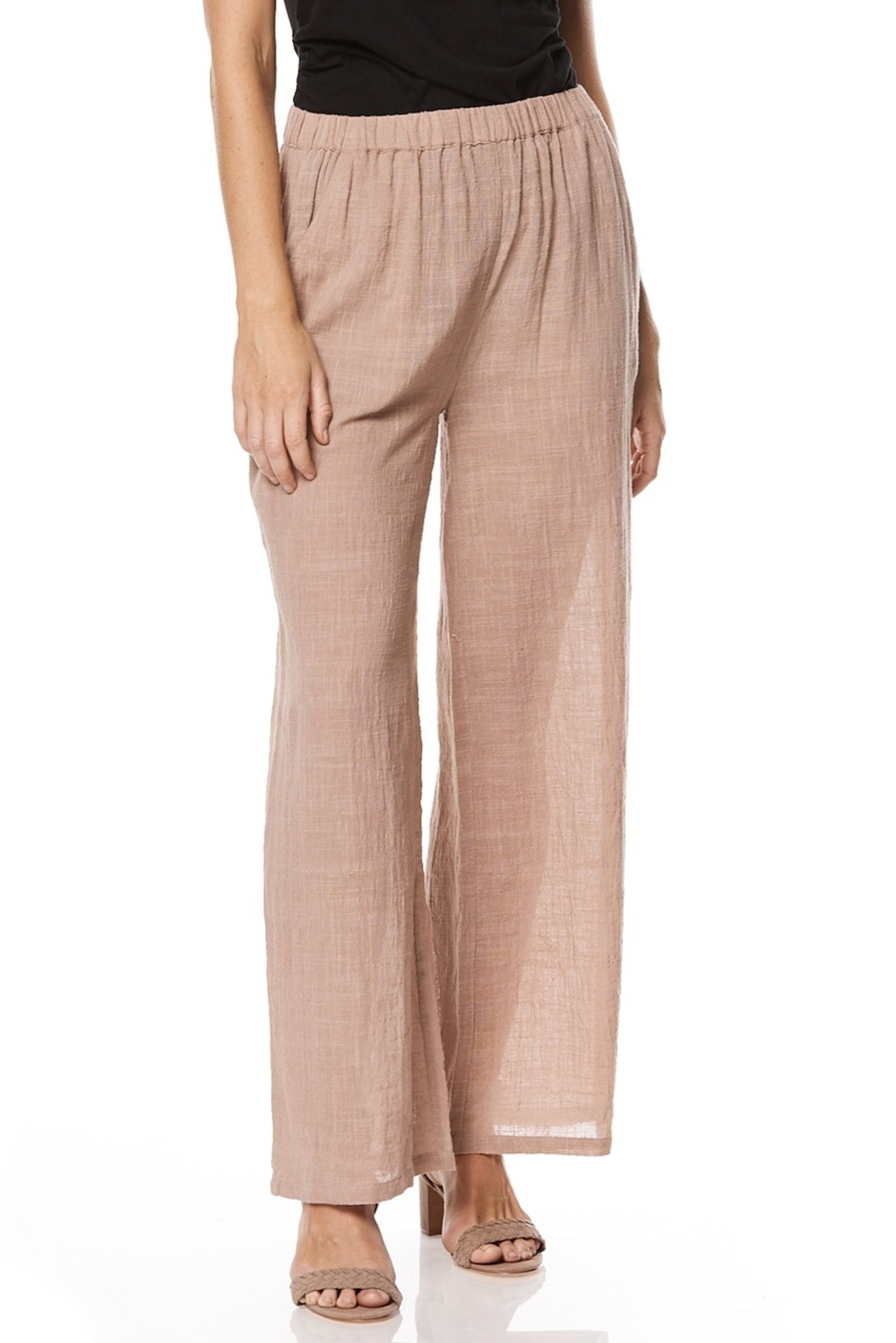 Anika Trouser - Dusty Pink