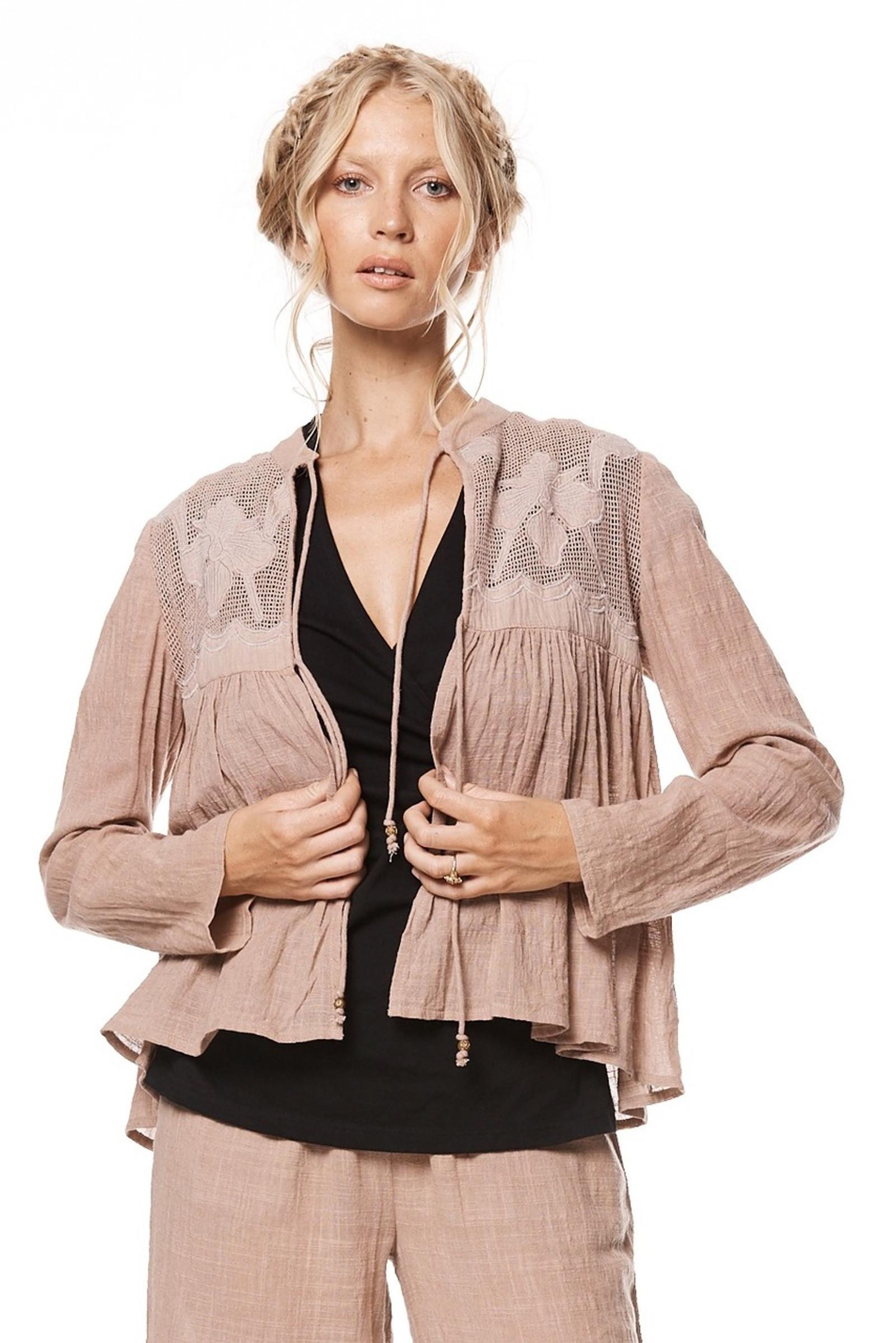 Zara Jacket - Dusty Pink