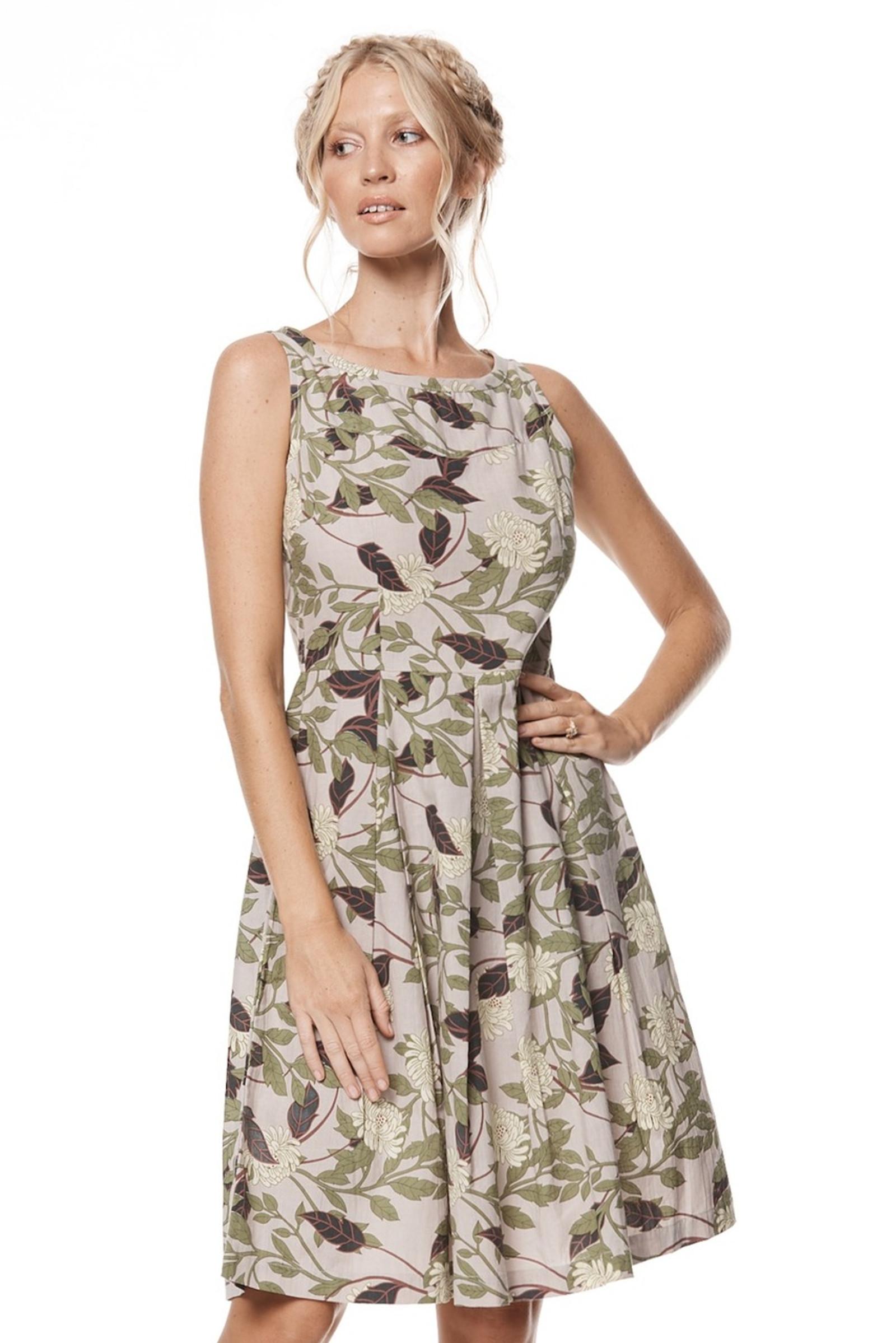 April Dress - Magnolia
