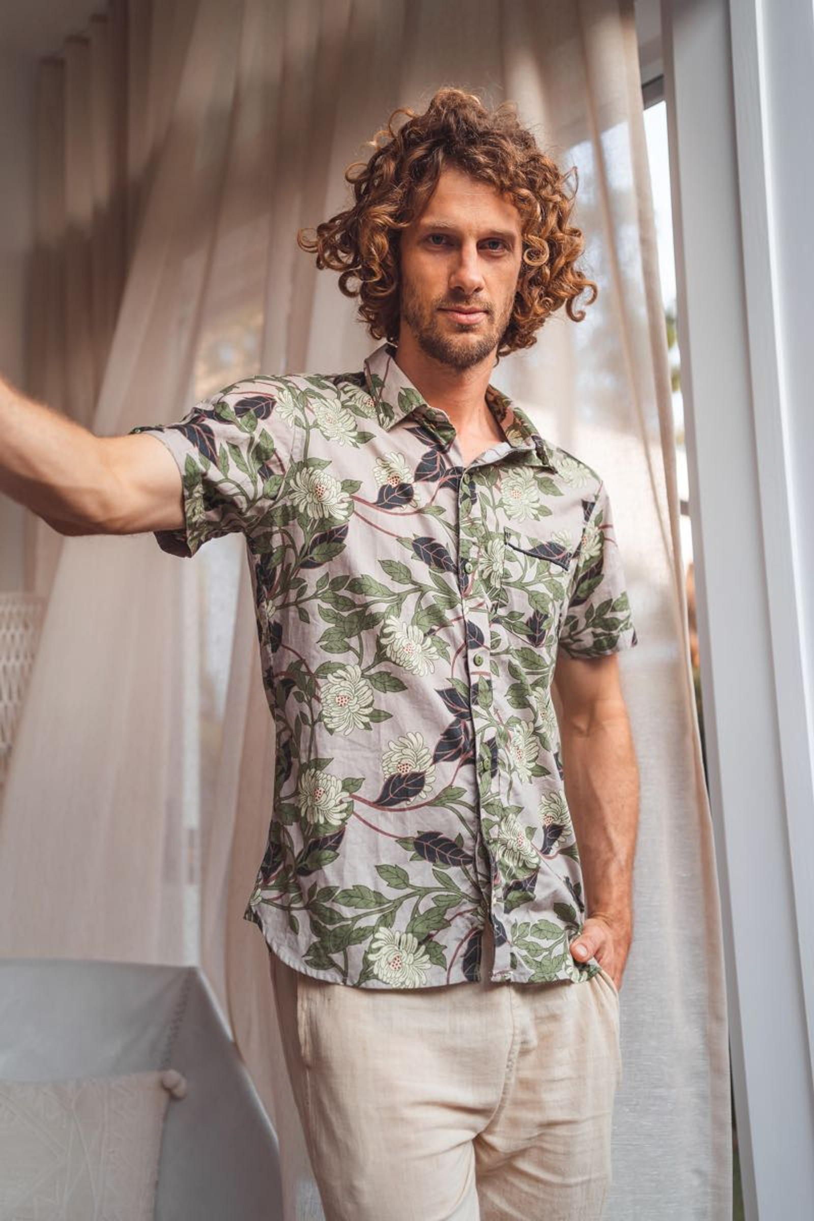 Men's Shirt - Magnolia