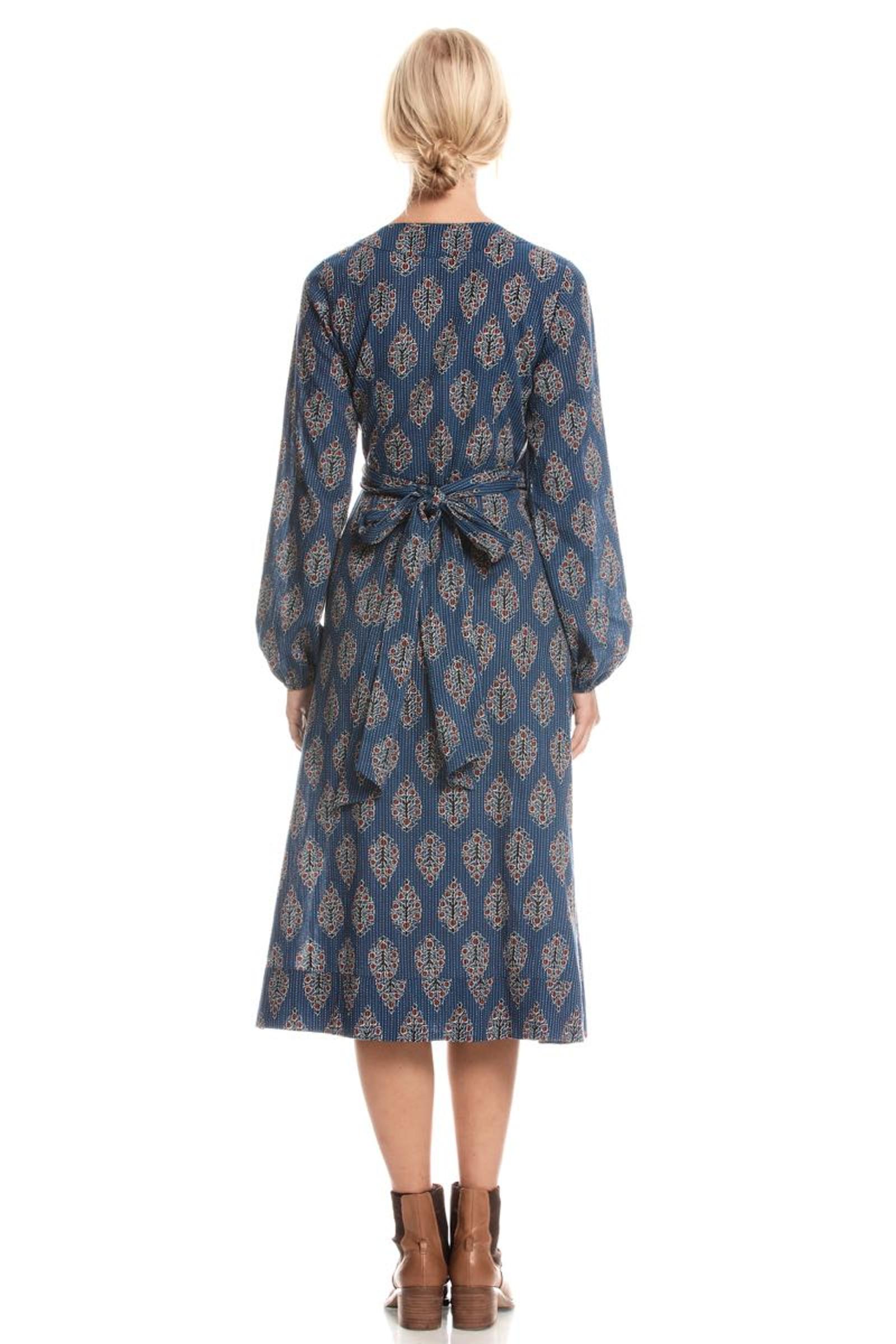 Sabina Wrap Dress Stitch - Bodhi