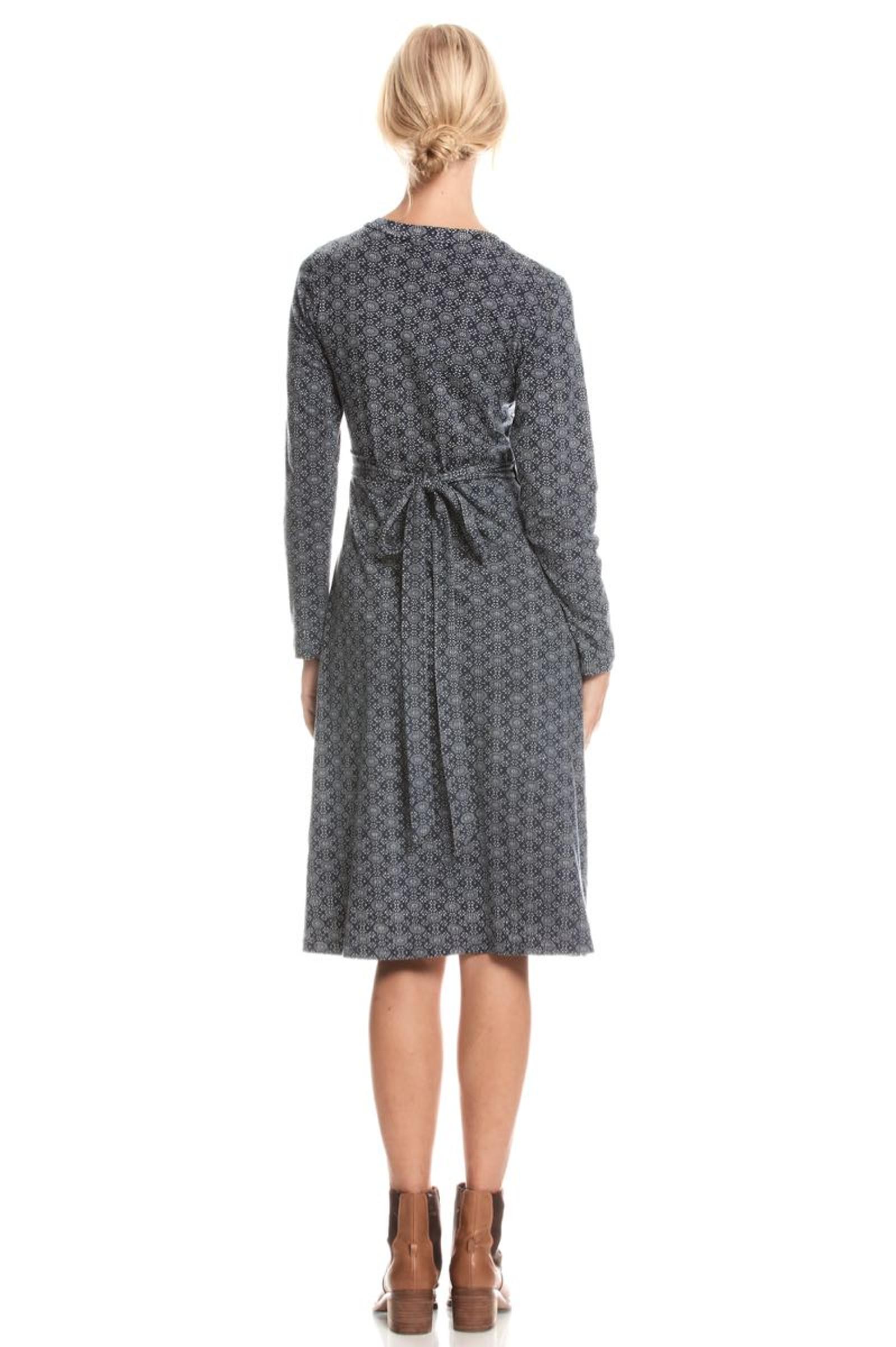 Audrey Wrap Dress - Nova