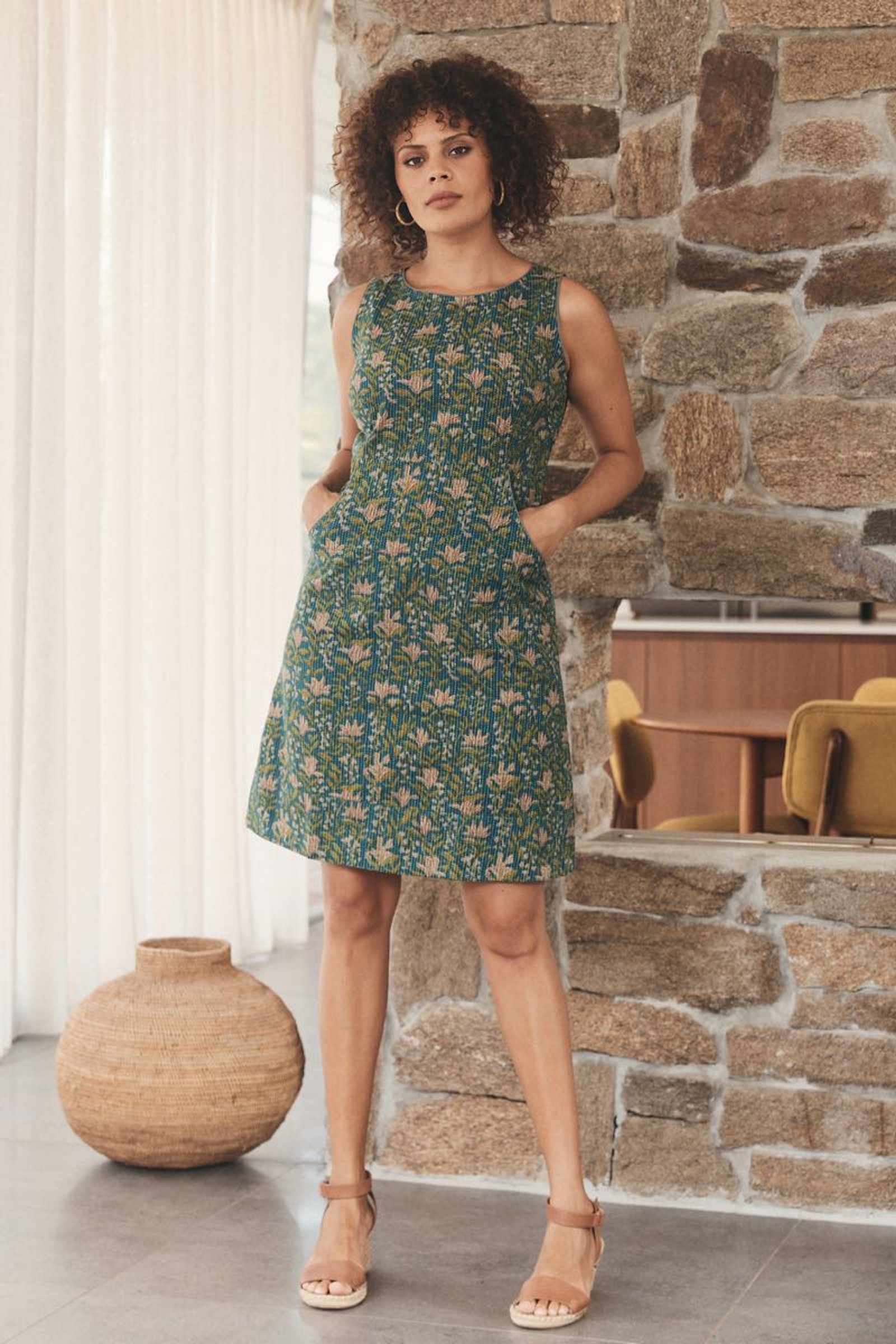 Alana Dress Stitch - Amla