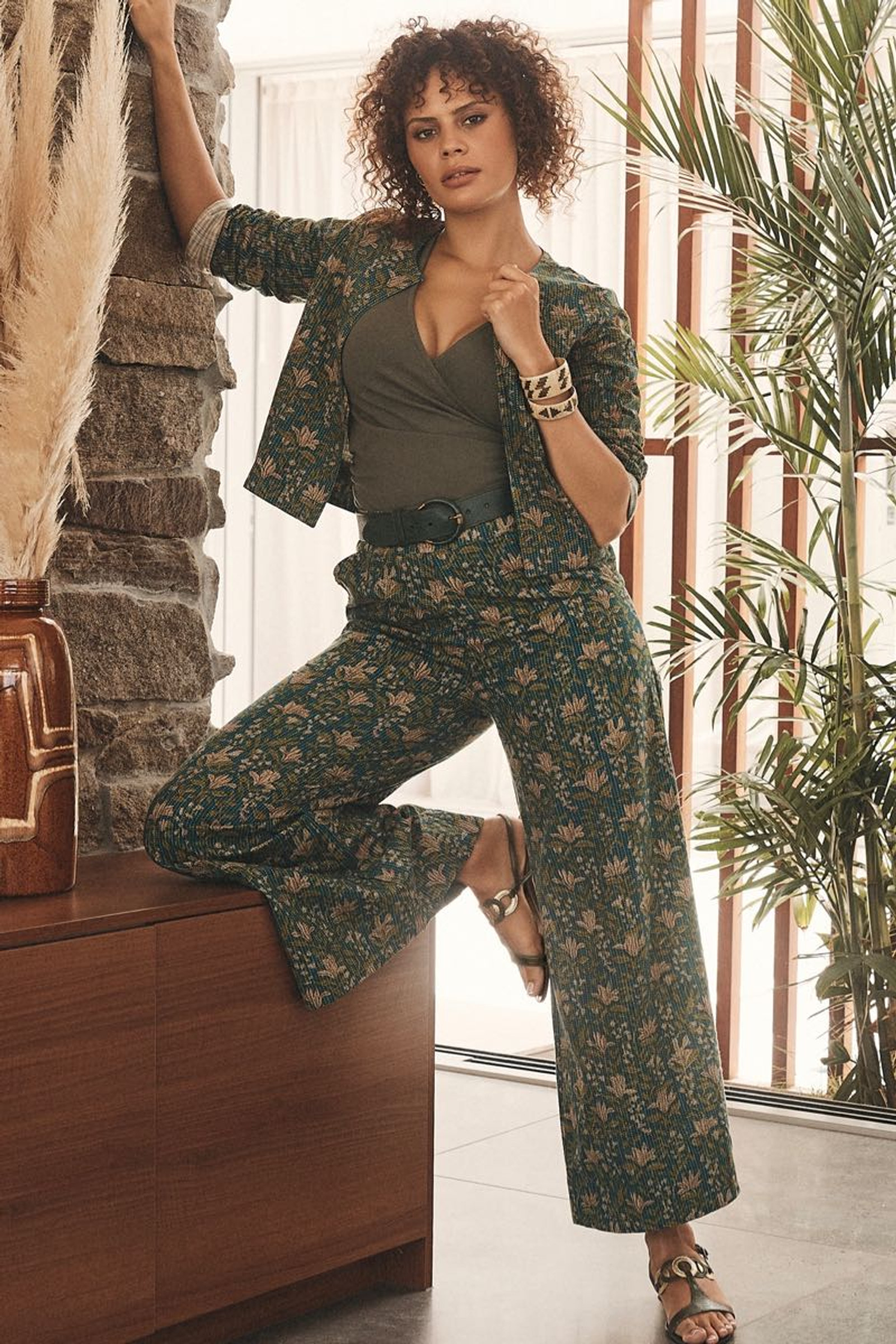 Priya Jacket Stitch - Amla