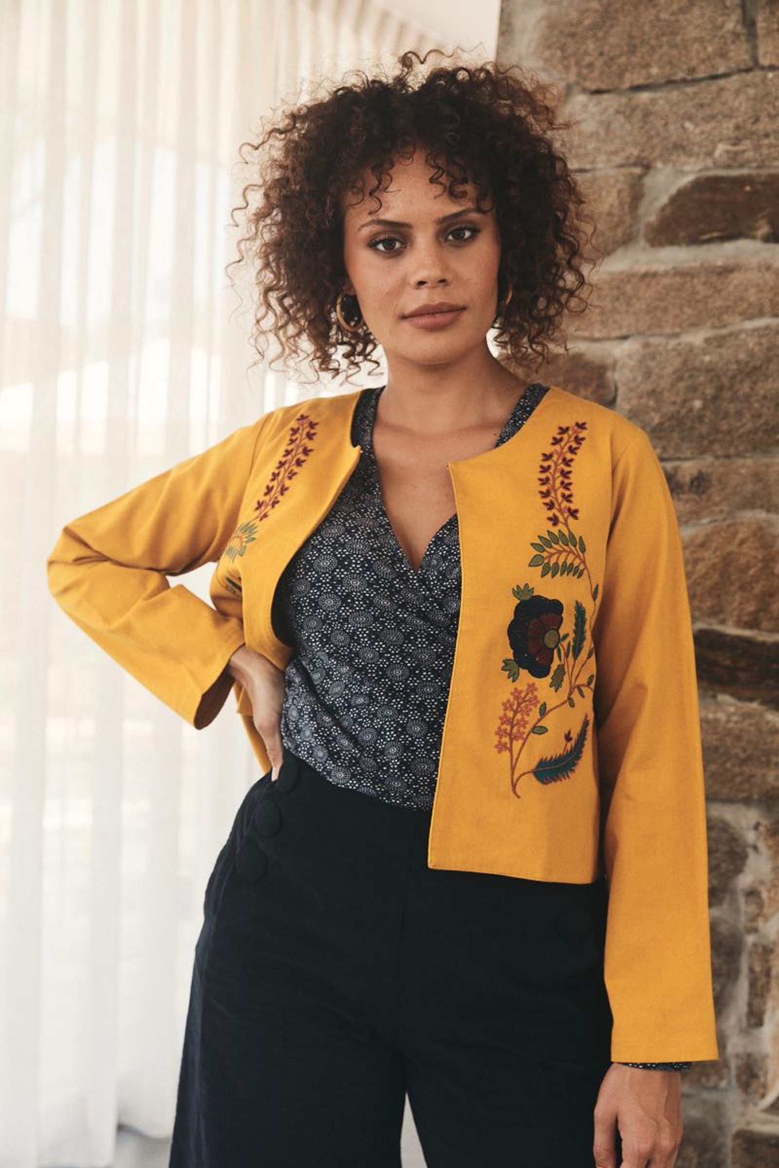 Priya Jacket Stitch - Embroidered