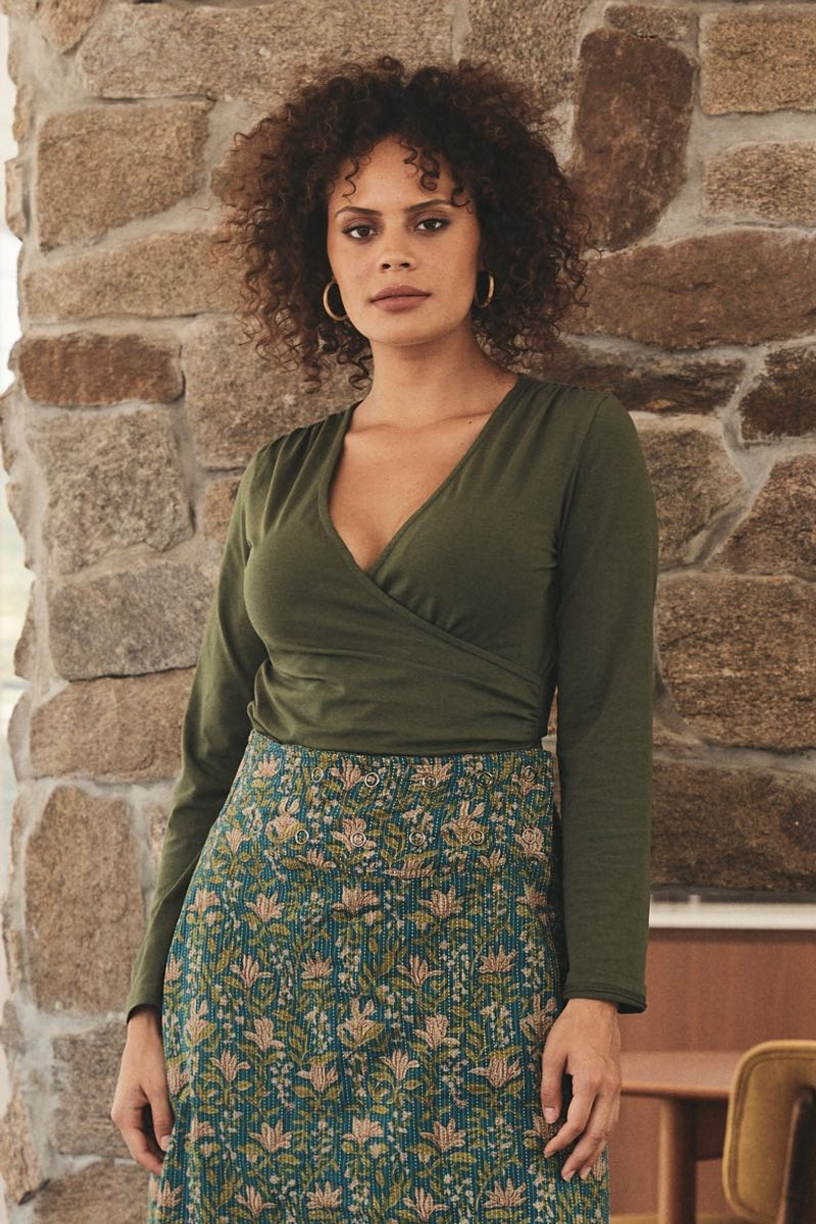Ayla Top - Moss