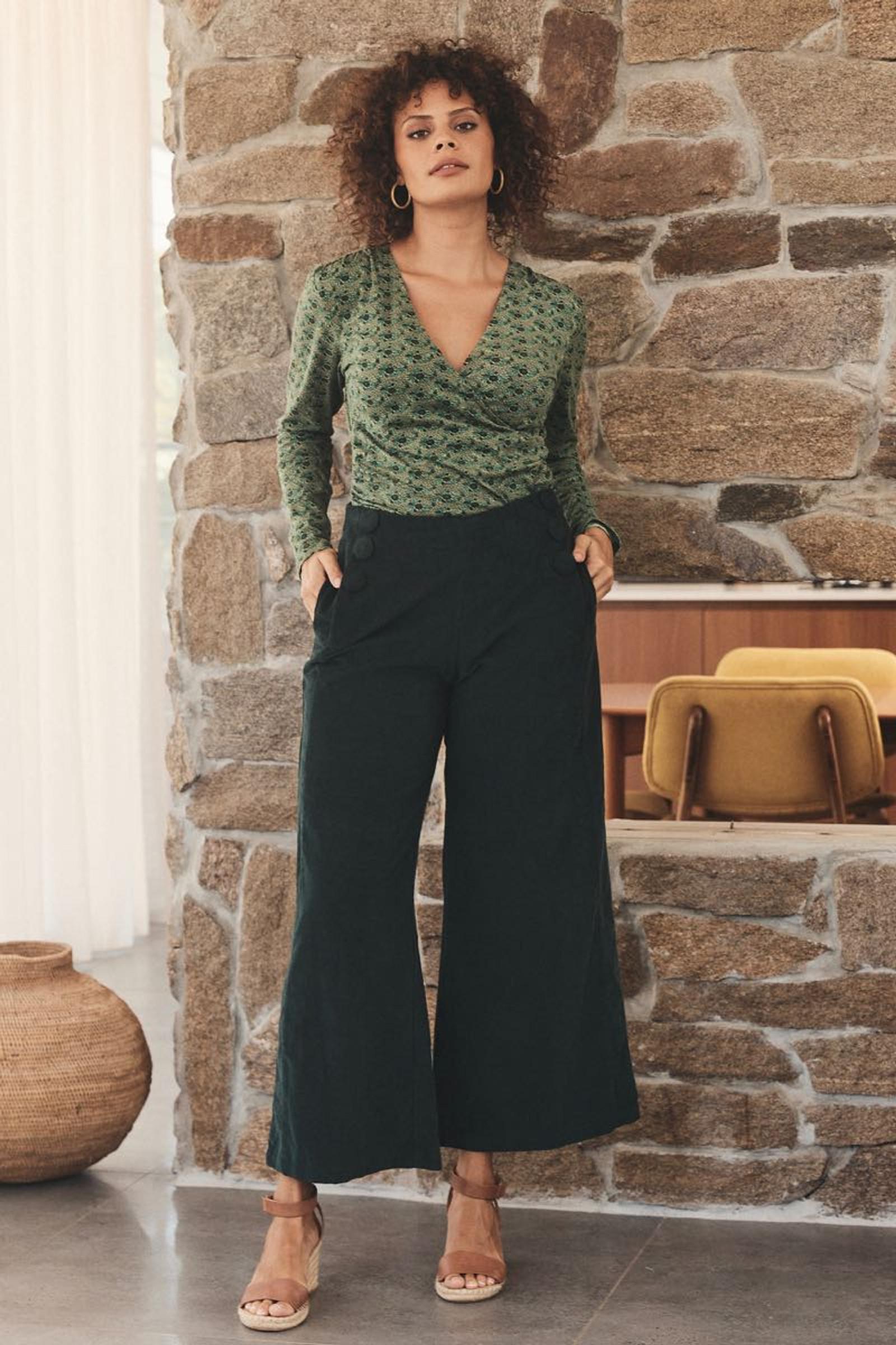 Ayla Top - Clover Jade