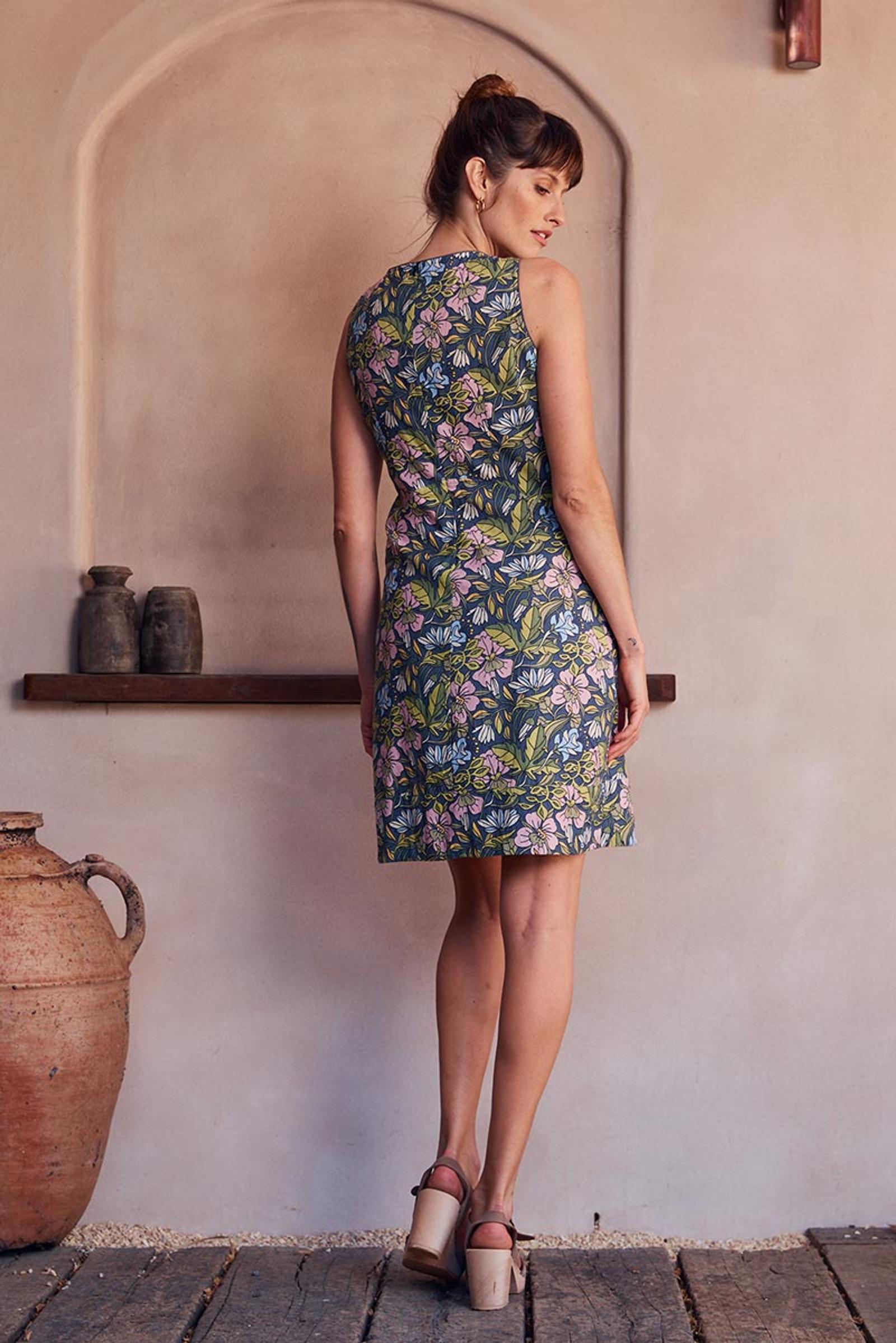 Alana Dress - Hibiscus