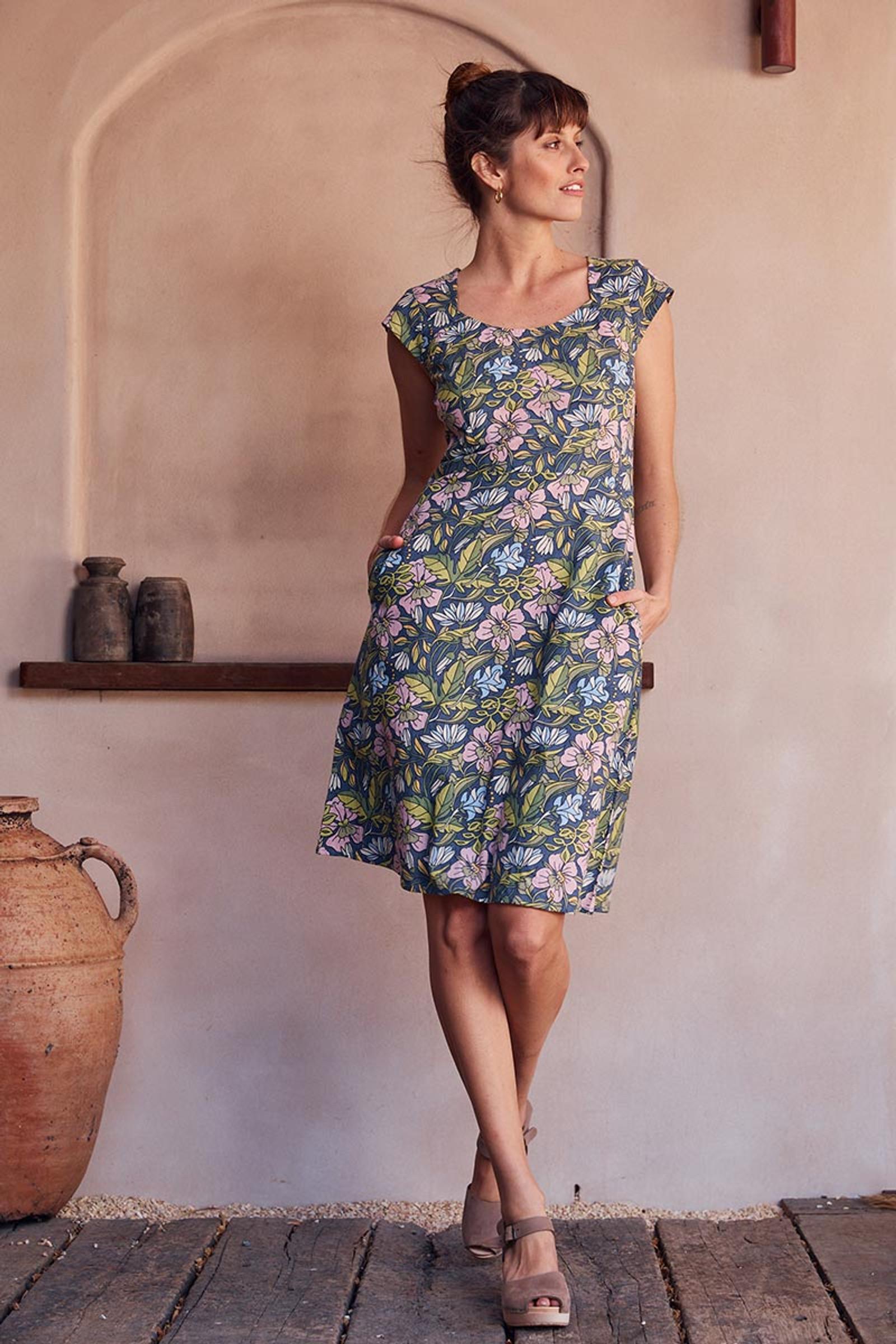 Elsy Dress - Hibiscus