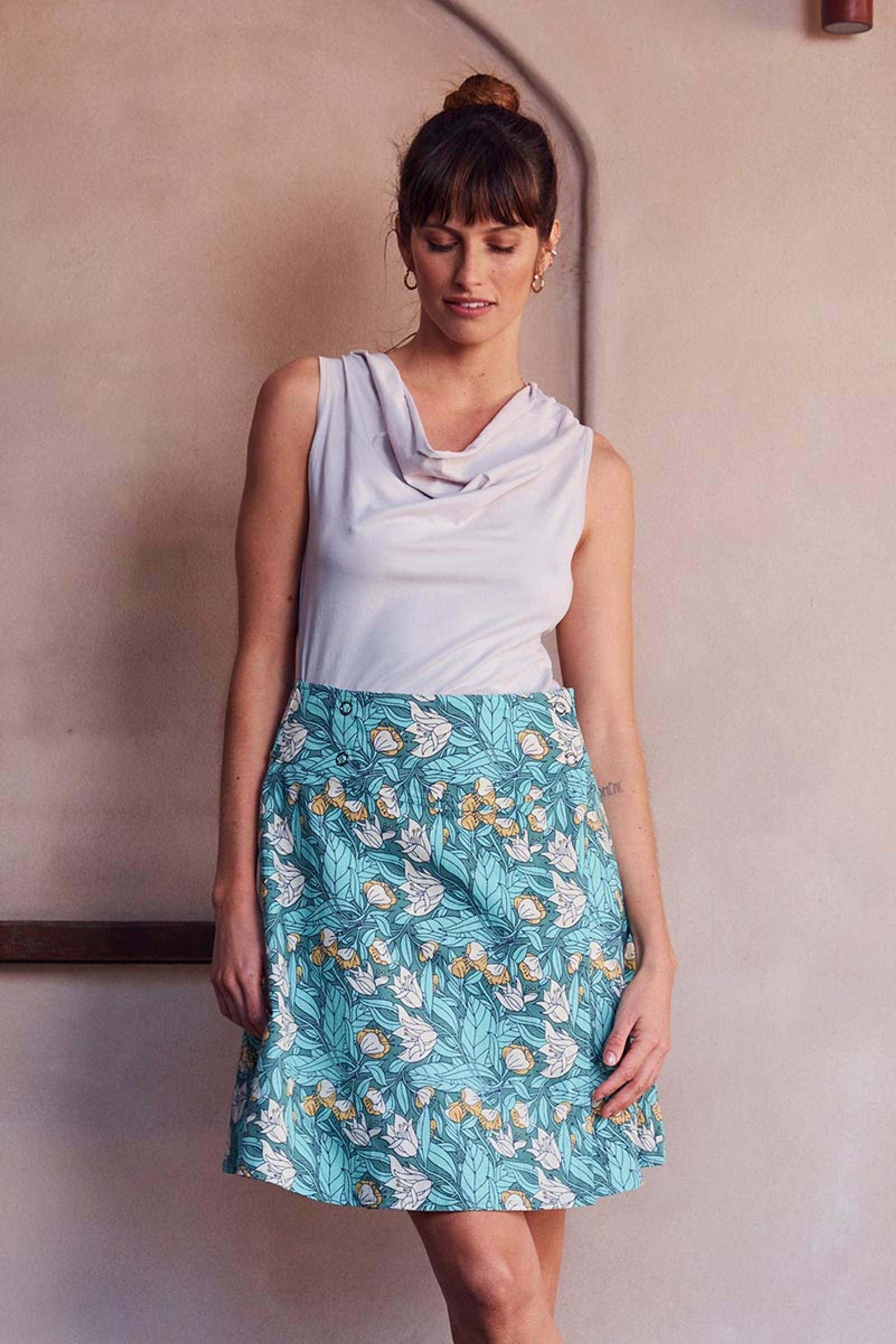 Chameleon Reversible Skirt - Lily & Iris
