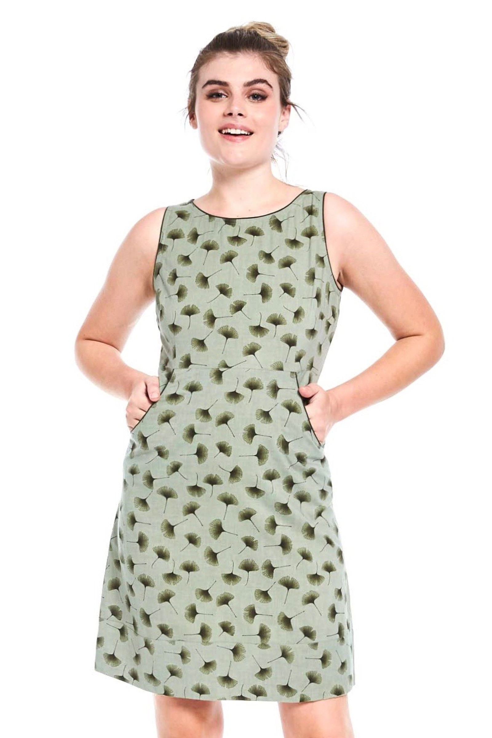 Alana Dress - Ginkgo Green
