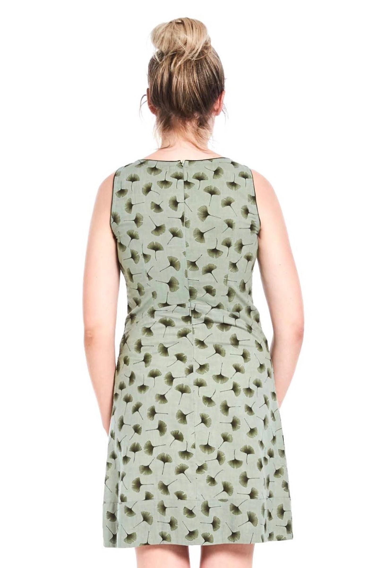 Alana Dress - Ginkgo Green