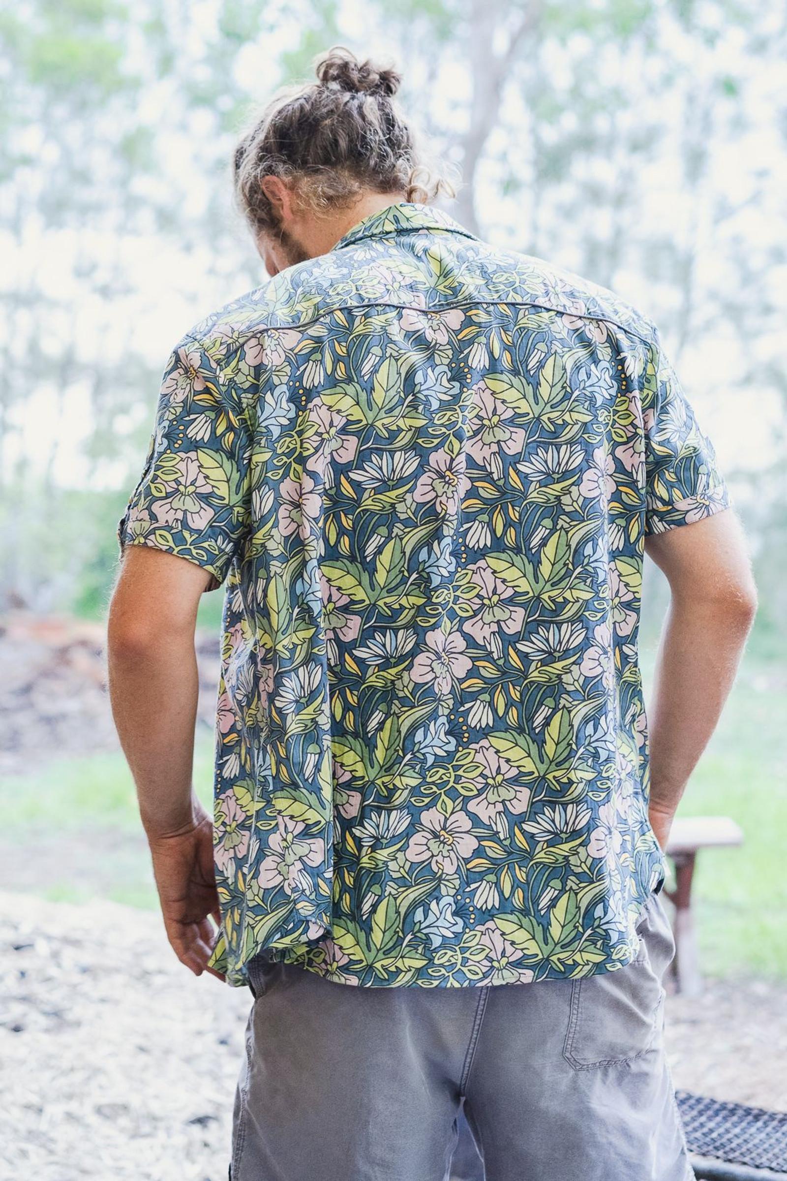 Men's Shirt - Hibiscus