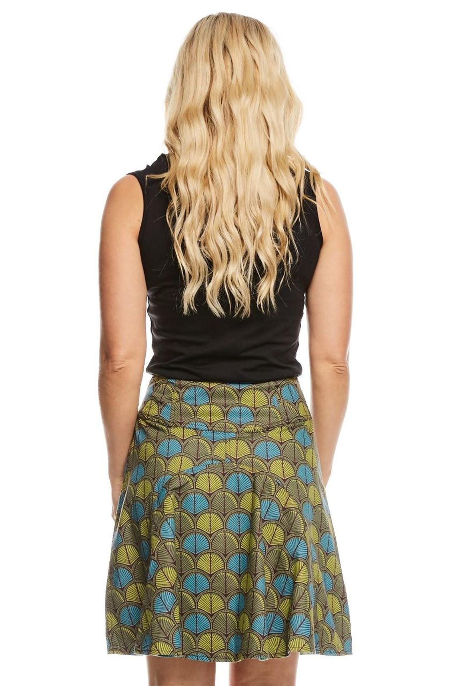 Reversible Skirt - Shell Blue & Arctic