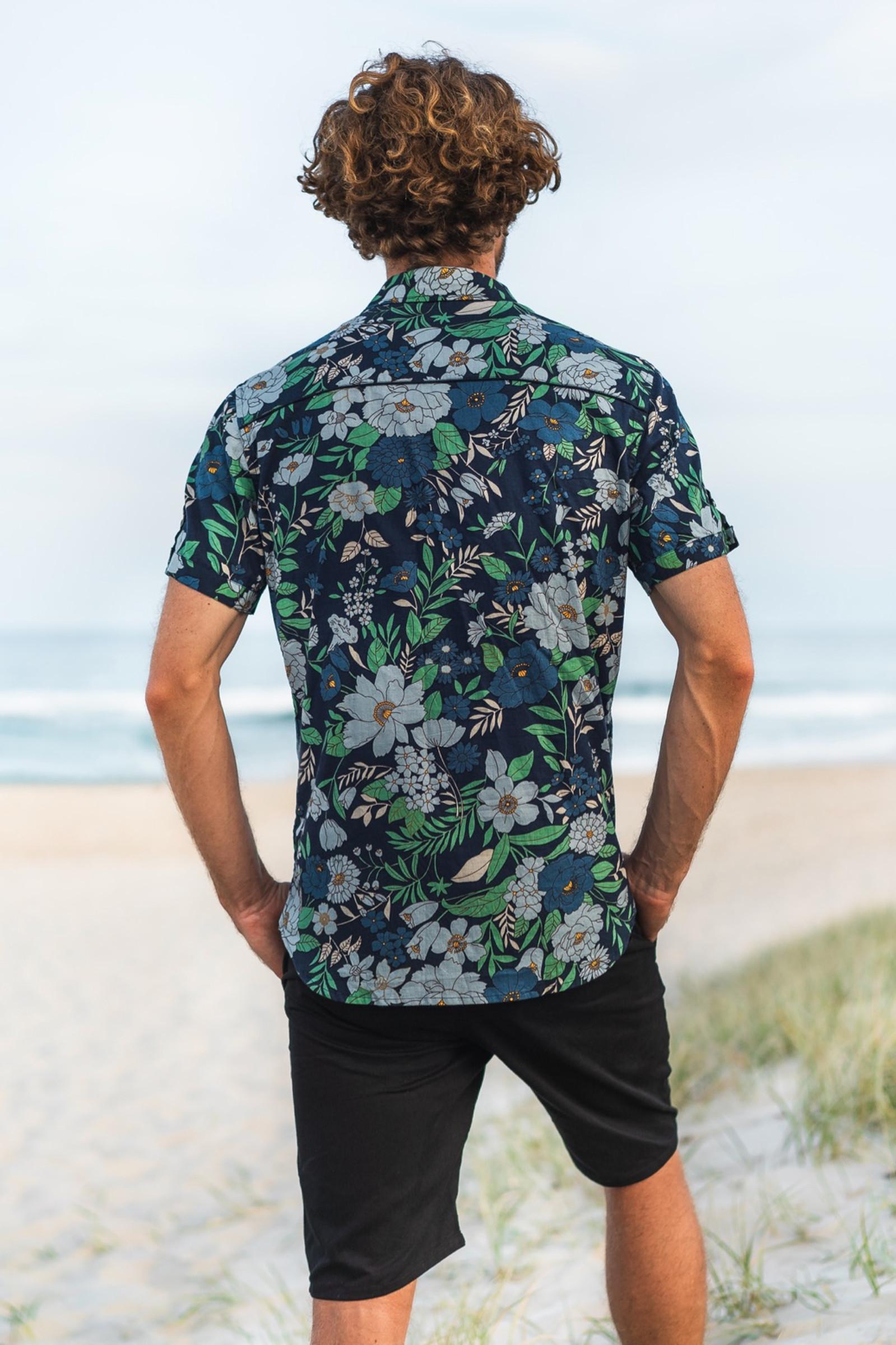Men's Shirt - Poppy