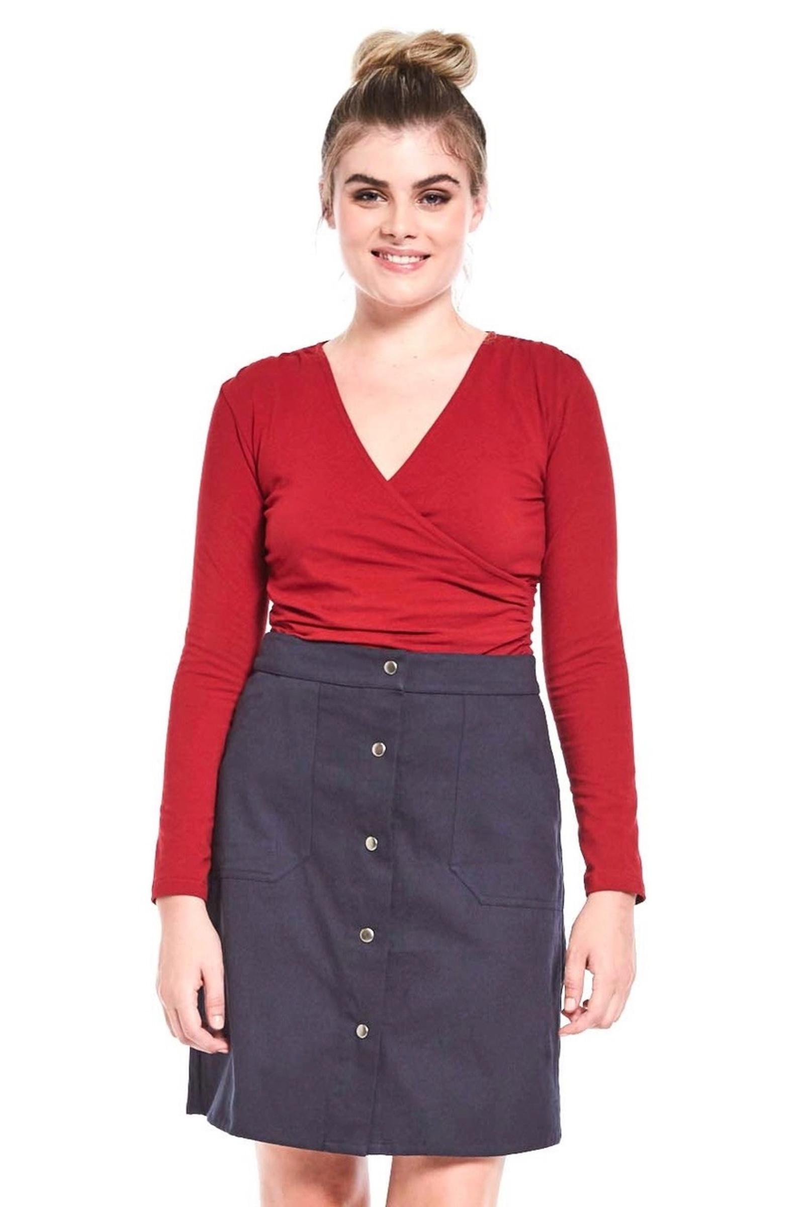 Hannah Skirt - Grey