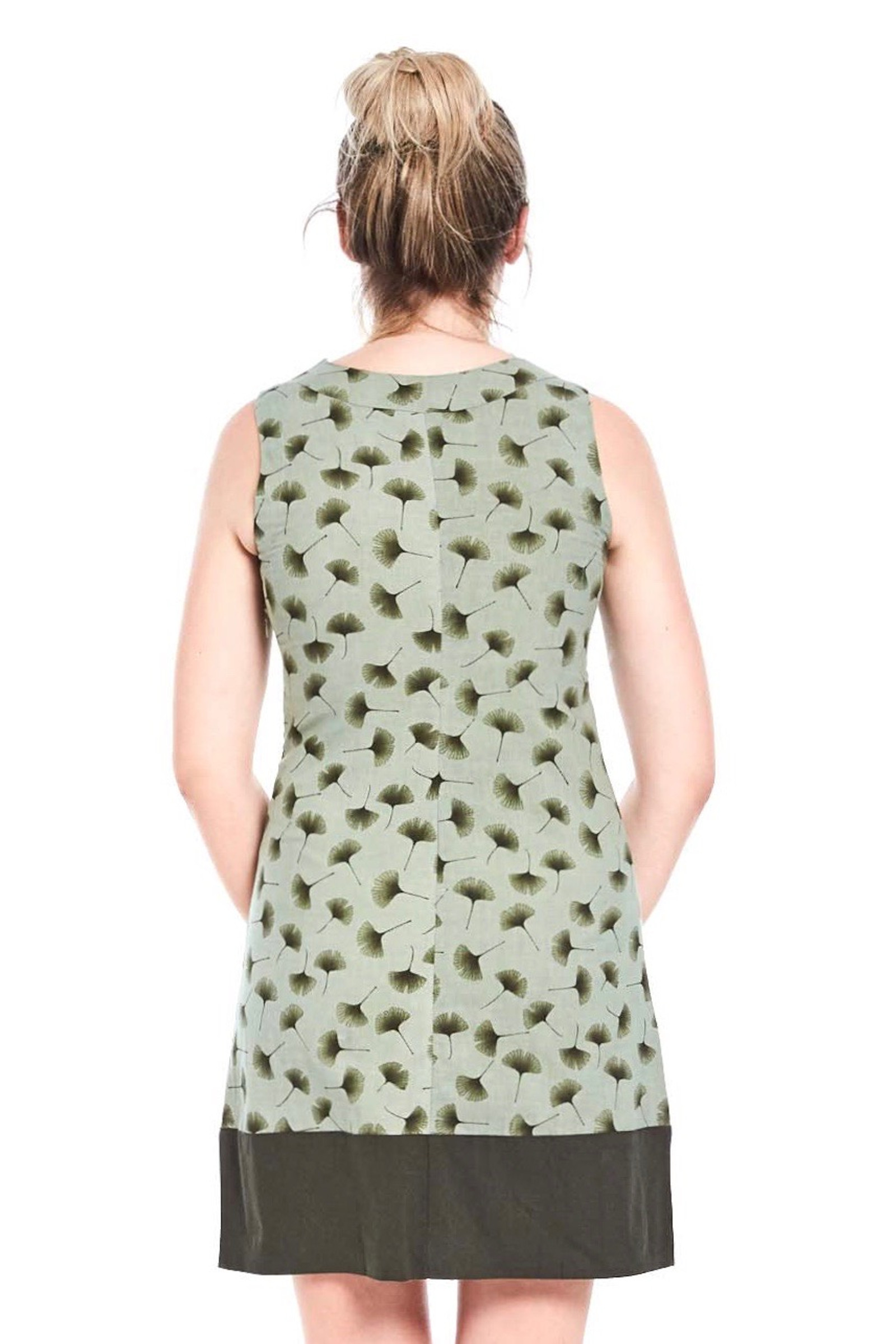 Sixties Tunic - Ginkgo Green