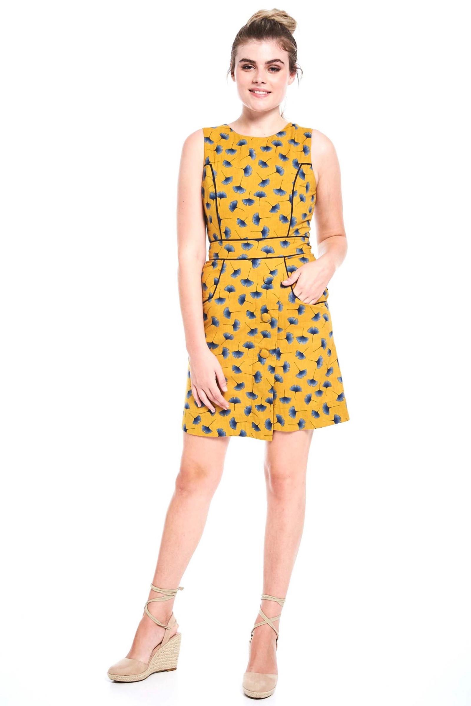 Abby Tunic - Ginkgo Mustard