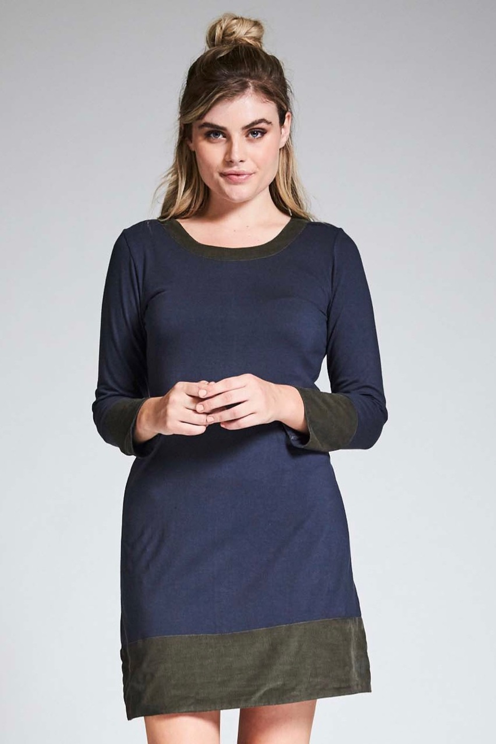 Juliette Dress - Dark Grey