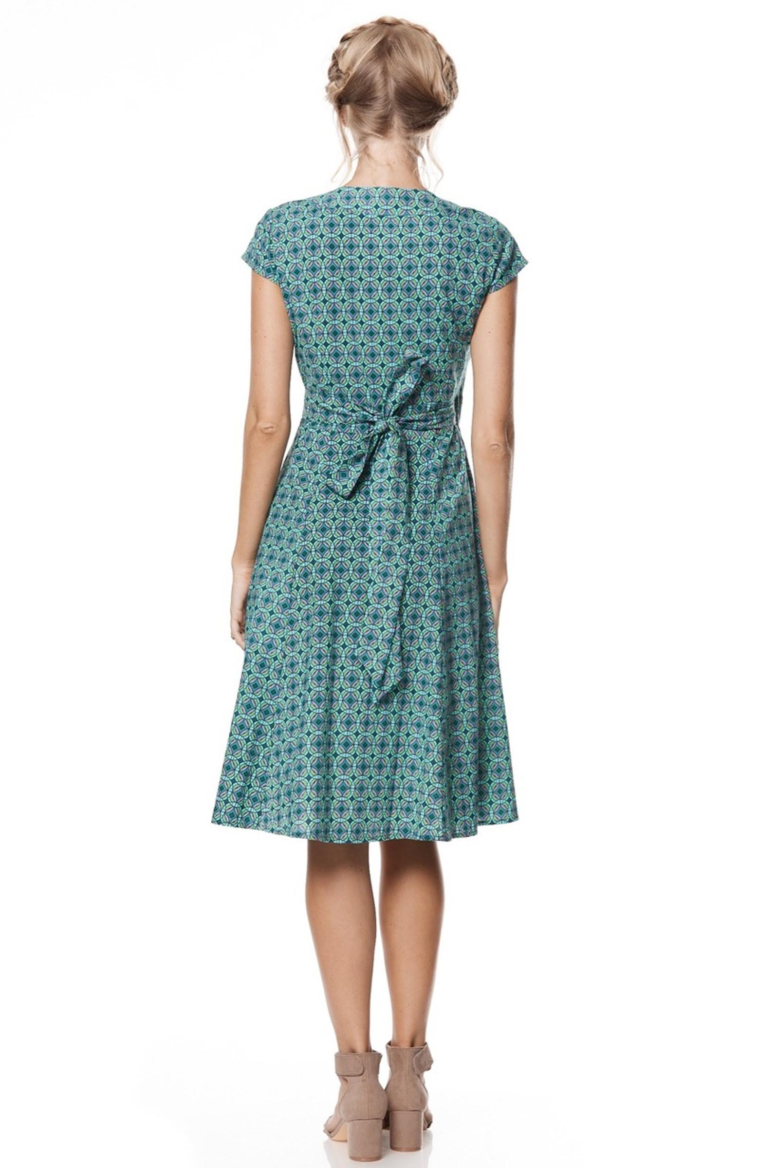 Wrap Dress - Kaleido Teal