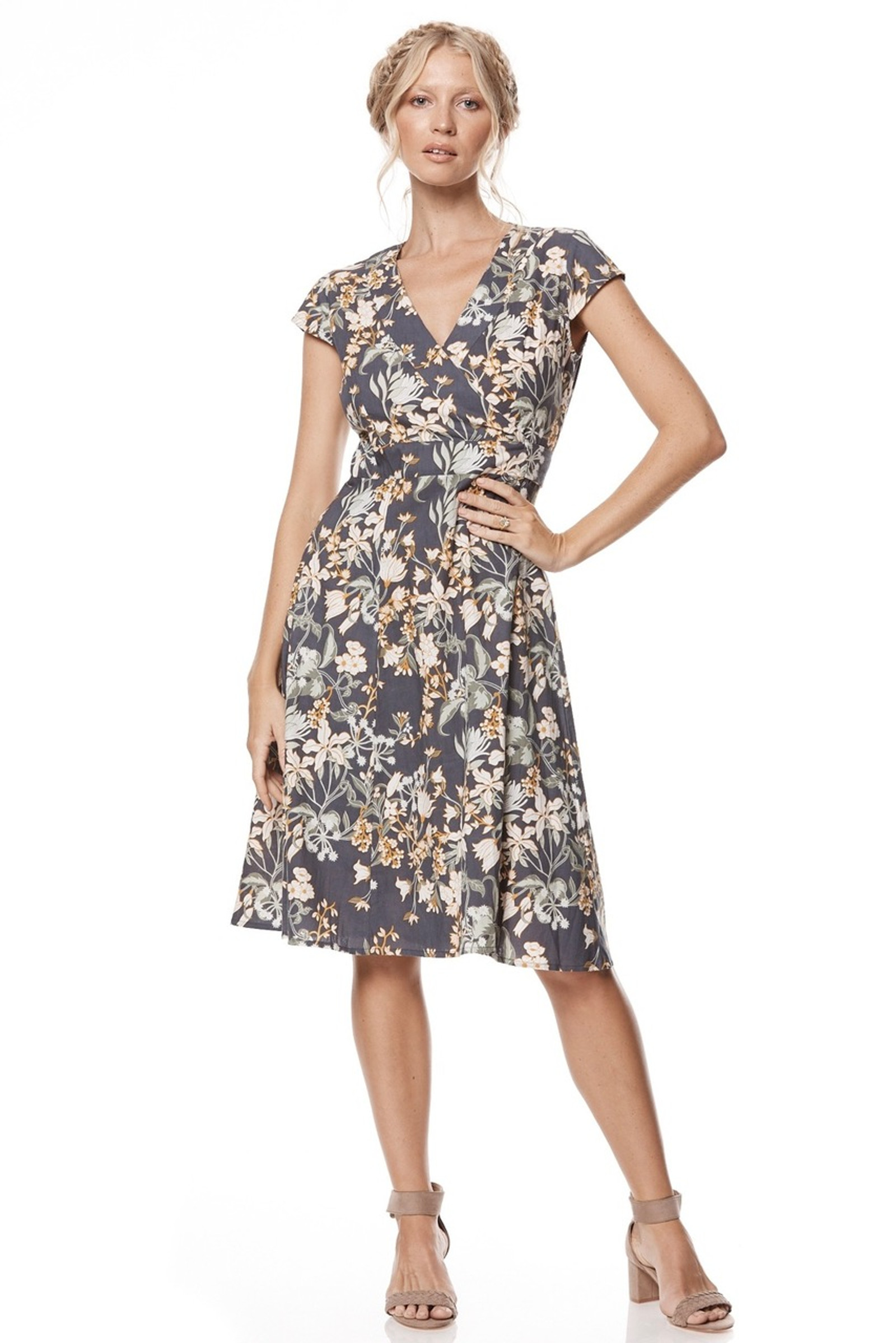 Wrap Dress - Zinnia