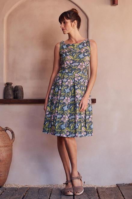 April Dress - Hibiscus