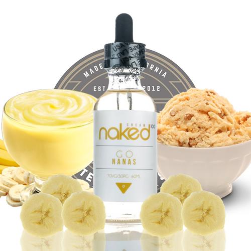 Go Nanas - Naked 100 Cream - 60ML