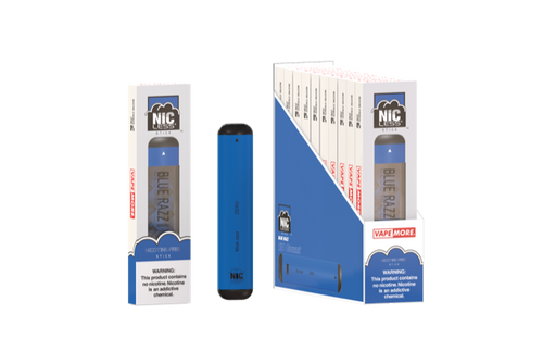 Nic less disposable vape Box (10 units )