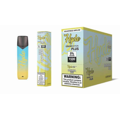 Hyde Color Edition PLUS (Full Box ) Adjustable Airflow 10 units