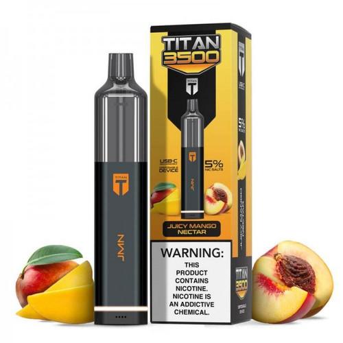Titan Disposable 3500 Vape   3500 Puffs   Sale