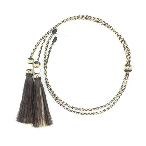 Horsehair Stampede String - Natural